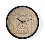 The MUSCLEHEDZ Man - Wall Clock