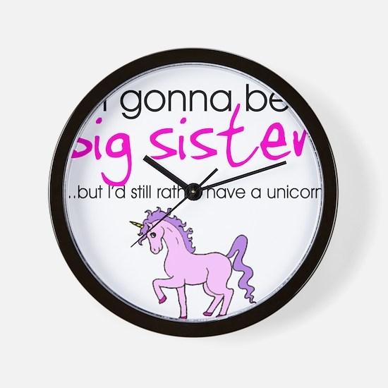 Cute Big sister Wall Clock