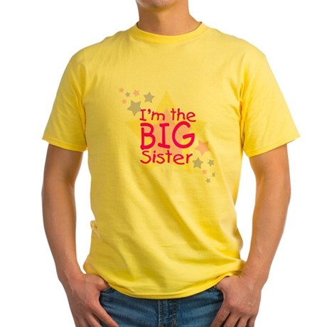 I'm the Big Sister Yellow T-Shirt