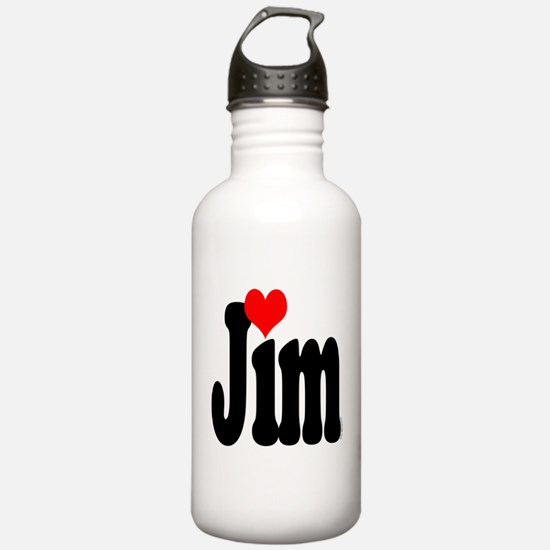 I love Jim Water Bottle
