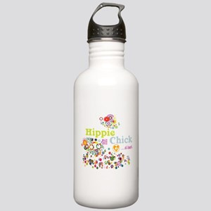 Hippie Chick at Heart Stainless Water Bottle 1.0L