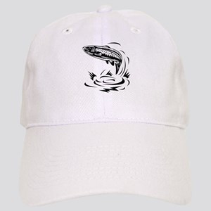 trout fish jumping Cap