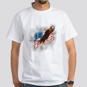 Faded Glory White T-Shirt