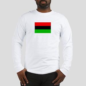 African American Flag 2 Long Sleeve T-Shirt