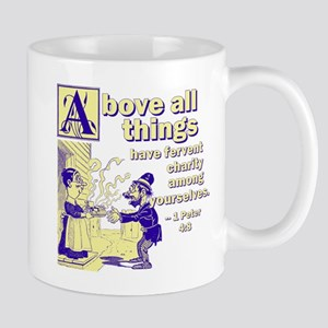 Above All Charity Mug