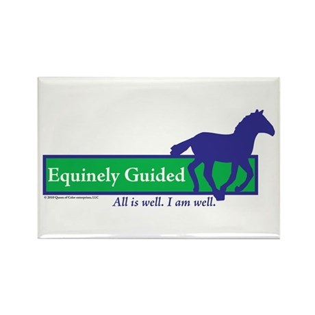 Equinely Guided Rectangle Magnet