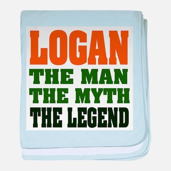 LOGAN - the legend! Infant Blanket