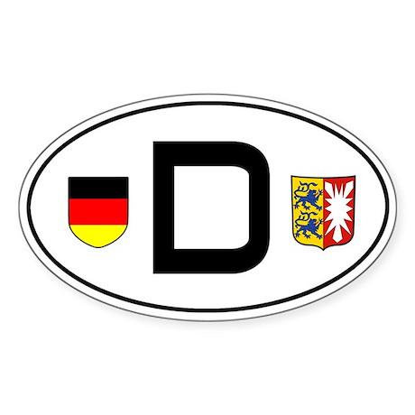 Germany car sticker (Schleswig-Holstein variant)