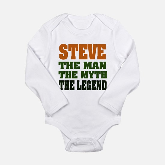 STEVE - The Legend Long Sleeve Infant Bodysuit