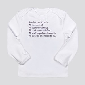 All Targets Met Long Sleeve Infant T-Shirt