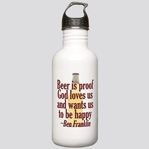 Beer is Proof Stainless Water Bottle 1.0L