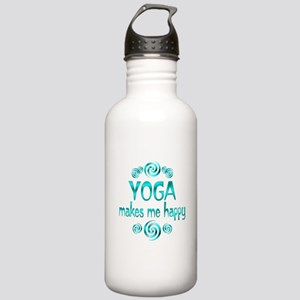 Yoga Happiness Stainless Water Bottle 1.0L