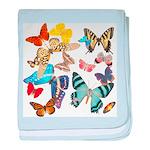 Beautiful Butterflies Infant Blanket