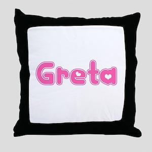 """""""Greta"""" Throw Pillow"""