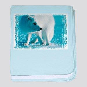Artic Fox Infant Blanket
