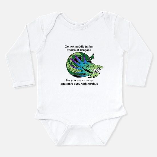 Dragon Crunchies Long Sleeve Infant Bodysuit