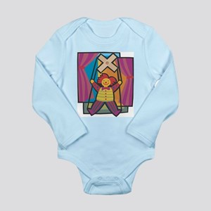 Puppetry Long Sleeve Infant Bodysuit