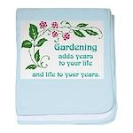 Gardening adds Years Infant Blanket