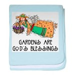 Gardens are God's Blessing Infant Blanket