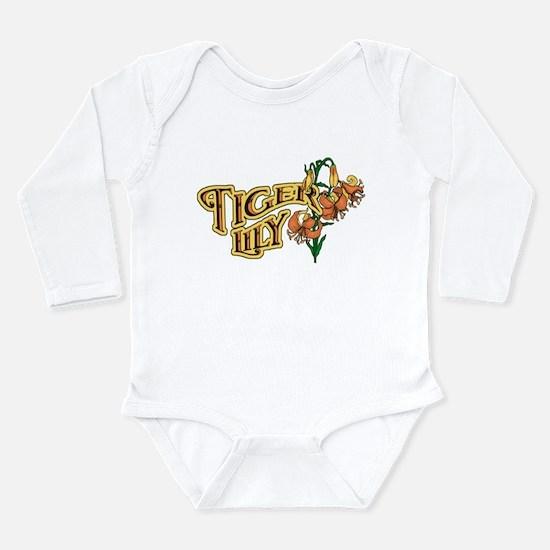 Tigerlily Long Sleeve Infant Bodysuit