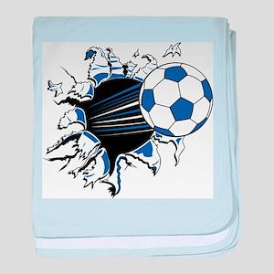 Soccer Ball Burst Infant Blanket