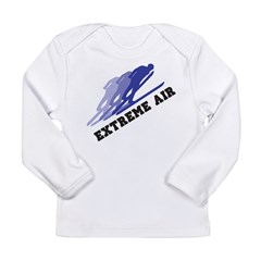 Extreme Air Skiing Long Sleeve Infant T-Shirt