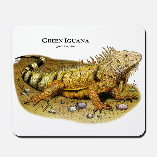 Green Iguana Mousepad
