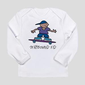 Skateboard Kid Long Sleeve Infant T-Shirt