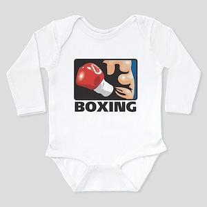 Boxing Long Sleeve Infant Bodysuit
