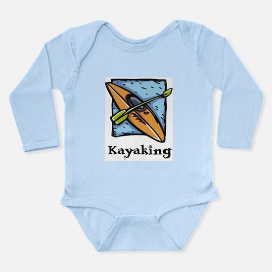Kayaking Long Sleeve Infant Bodysuit