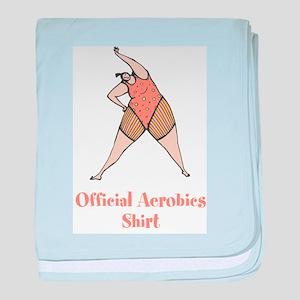 Official Aerobics Infant Blanket
