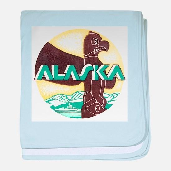 Alaska Totem Pole Infant Blanket