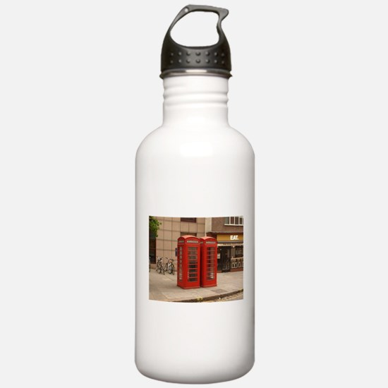 Cute Phone booth Water Bottle