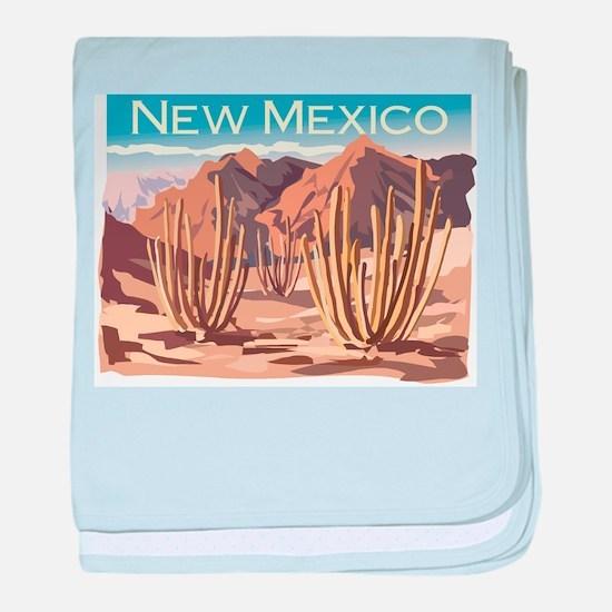 New Mexico Desert Infant Blanket