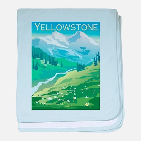 Yellowstone Infant Blanket