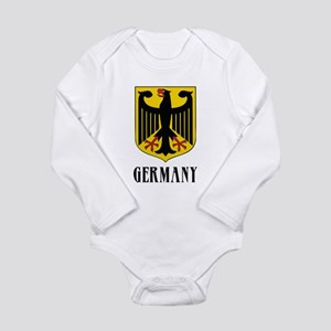 German Coat of Arms Long Sleeve Infant Bodysuit