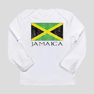 Jamaica Flag Long Sleeve Infant T-Shirt