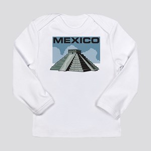 Mexico Pyramid Long Sleeve Infant T-Shirt