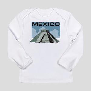 Mexico Pyramid Long Sleeve Infant T-Shirt