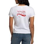 """Why Run Faster..."" Women's T-Shirt"