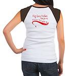 """Why Run Faster..."" Women's Cap Sleeve T-Shirt"