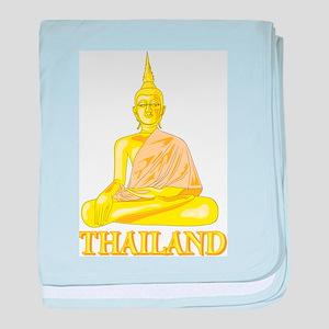 Thailand Buddah Infant Blanket
