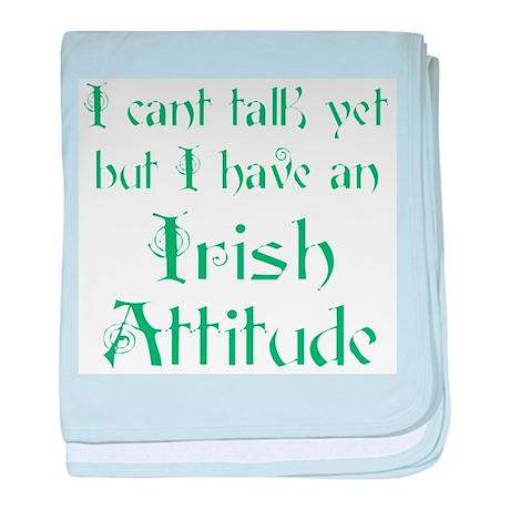 Irish Attitude Infant Blanket