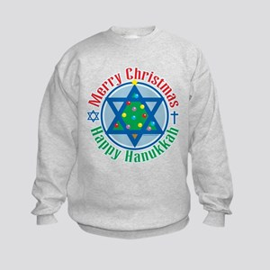 Christmas-Hanukkah Kids Sweatshirt