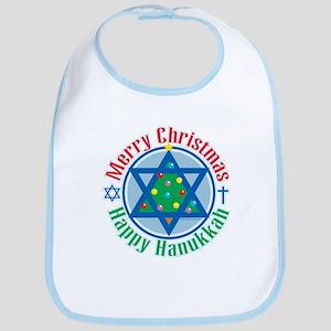 Christmas-Hanukkah Bib
