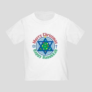 Christmas-Hanukkah Toddler T-Shirt