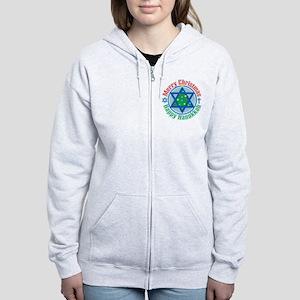 Christmas-Hanukkah Women's Zip Hoodie