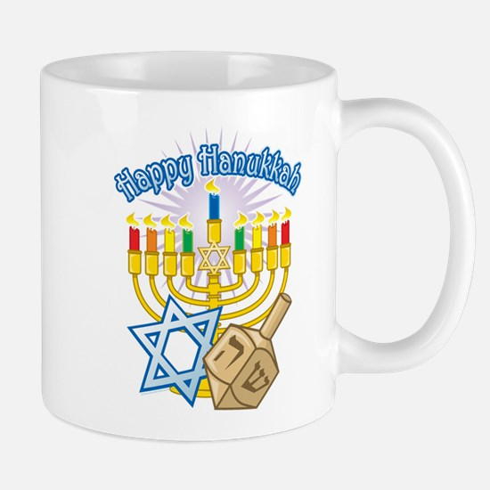 Happy Hanukkah Mug