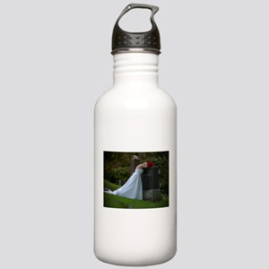 Bride Cry Husband Grave Stainless Water Bottle 1.0