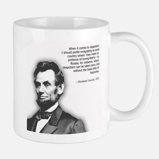 Abraham Lincoln Quote Mug